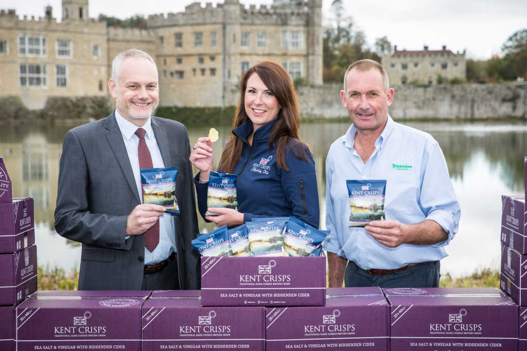 Kent Crisps launch 900th anniversary Leeds Castle Crisps. Picture: www.matthewwalkerphotography.com