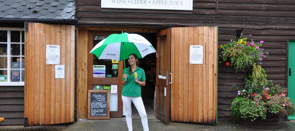 Classic rain experience at Biddenden